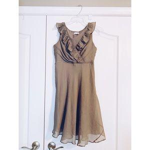 J. Crew Gray Bridesmaid Dress